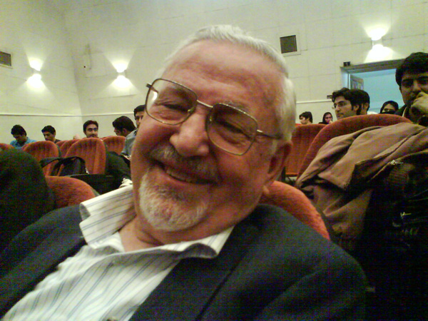 Ibrahim Yazdi. Photo by Hessam Armandehi.