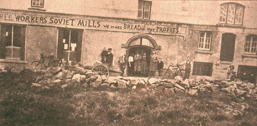 Bruree Workers Soviet Mills Image public domain