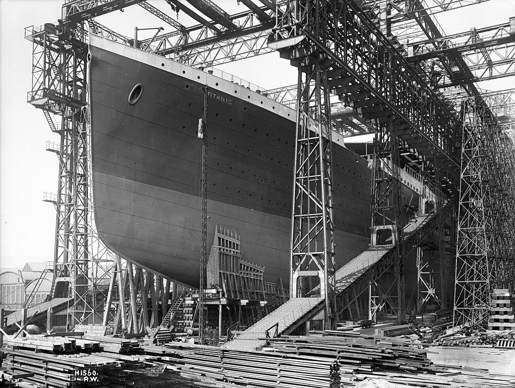 Harland and Wolff Titanic Image Robert John Welch