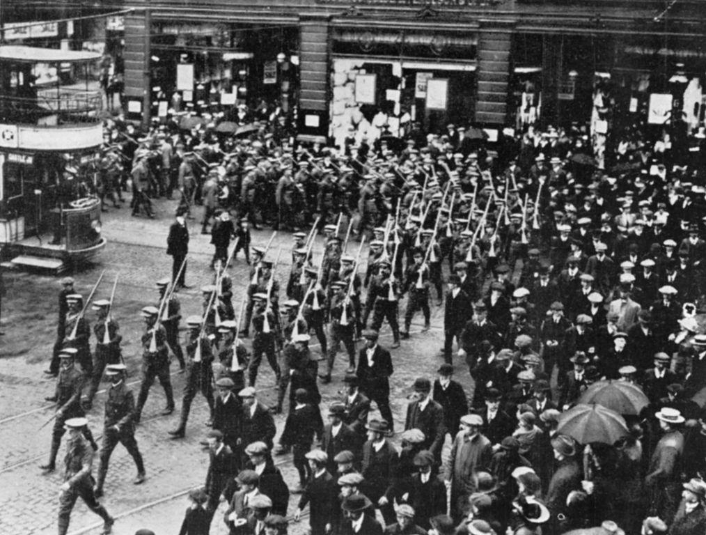The Ulster Volunteer Force Belfast 1914 Image public domain