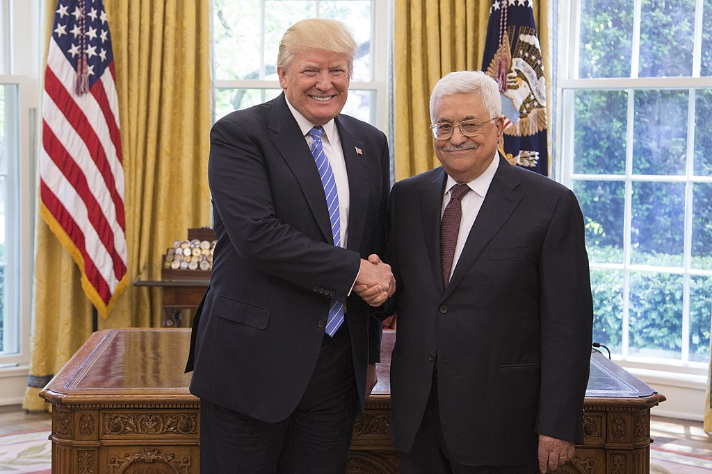 Abbas Trump Image White House Flickr