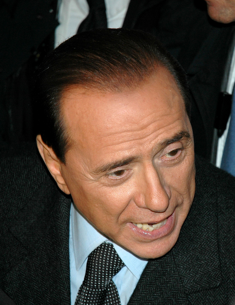 Silvio Berlusconi. Photo: Roberto Gimmi