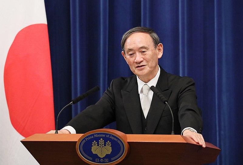 人們對菅義偉和自民黨所產生的不滿正在累積。//圖片來源:內閣秘書處 內閣公共關系辦公室