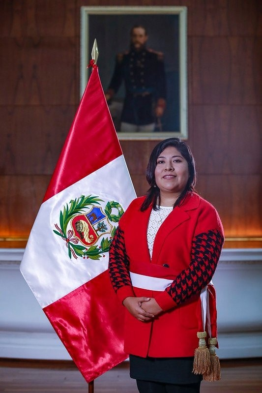 Betssy Chávez Chino Presidencia Perú flickr