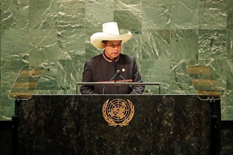pedro castillo onu Presidencia Perú flickr