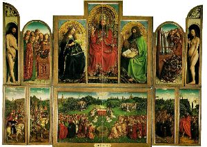 Gent alterpiece by Jan van Eyck