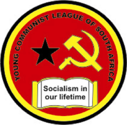 Logo of the Young Communist League