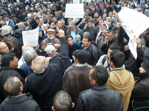 5 February, rally for trade union democracy, Tunis. Source: intal.be