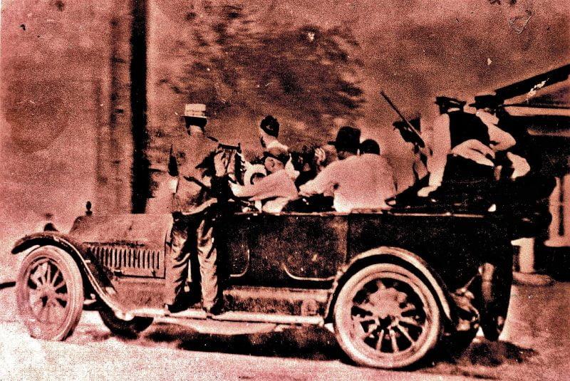 White mob Image George Lane Flickr