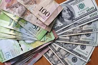 bolivares dollars