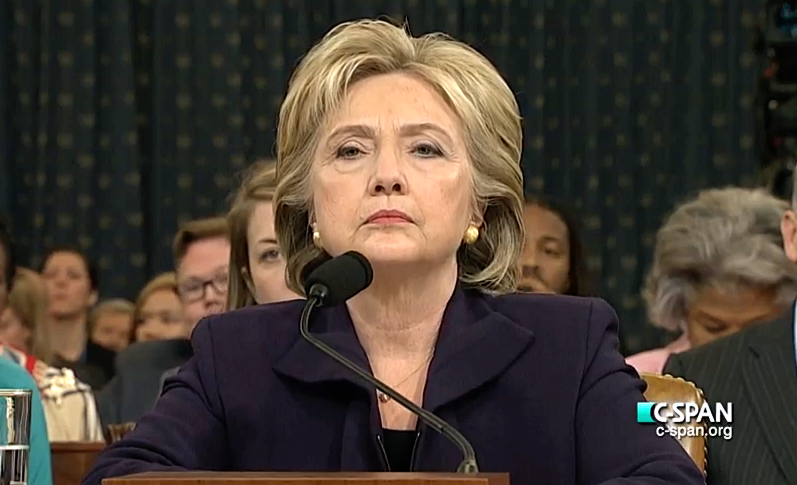 Hillary Clinton Testimony to House Select Committee on Benghazi.