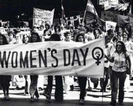 International Working Women's Day demonstration.