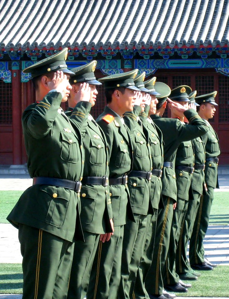 china army Image Travis Wise Flickr